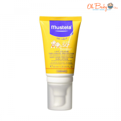 Mustela Very High Protection Sun Lotion SPF 50+ 40ml