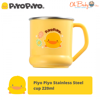 Piyo Piyo Stainless Steel cup for Baby 180ml/220ml