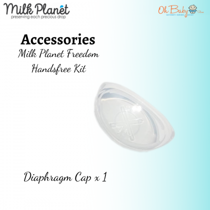 Milk Planet Freedom Handfree Accessories (Diaphragm Cap 1pc/2pcs)