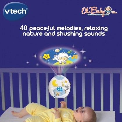VTech Baby Lullaby Sheep Cot Light Electronic Learning Toys