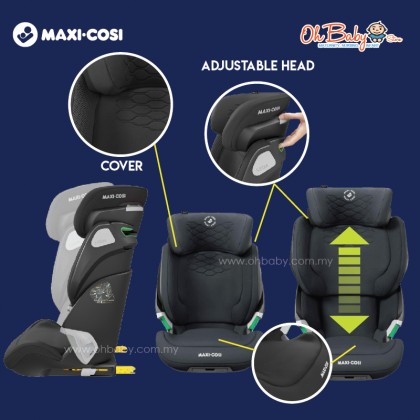 Maxi-Cosi Kore Pro i-Size Baby Booster Seat 100cm-150cm from 4 year to approx 12 year