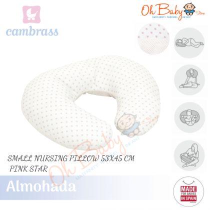 Cambrass Almohada Pregnant/Maternity/Breastfeeding Small Nursing Pillow For Mummy & Baby