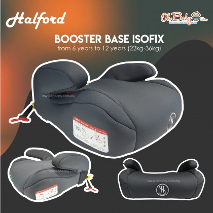 Halford Baby Booster Base Isofix Group lll (22-36kg)