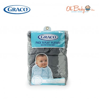 Graco Pack 'N' Play Playard Quilted Fitted Sheet