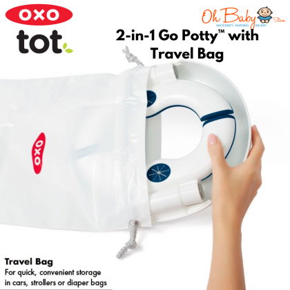 OXO Tot 2-in-1 Go Potty™ with Travel Bag - Teal