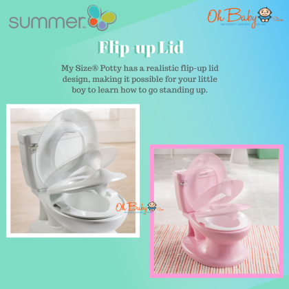 Summer Infant My Size® Potty for Kids 18months+ (Pink)