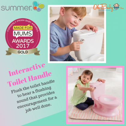 Summer Infant My Size® Potty for Kids 18months+ (White)