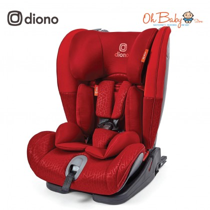 Diono Orcas Nxt Baby Car Seat (Group 1,2,3; 9kg-36kg) [9 Months - 12 Years] Free GIFT