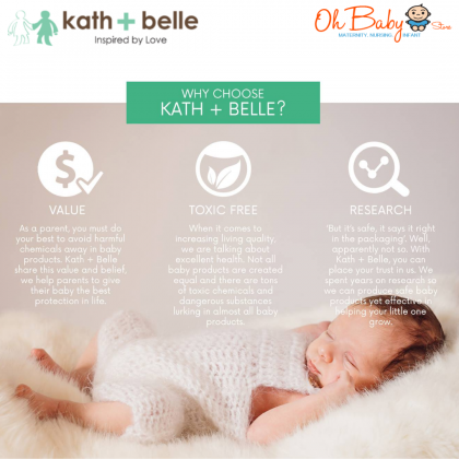 Kath + Belle GermsFree Hand Sanitizing Mist 40ml