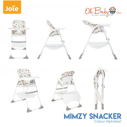 Joie Mimzy Snacker Baby High Chair Usage 6 months to 15kg