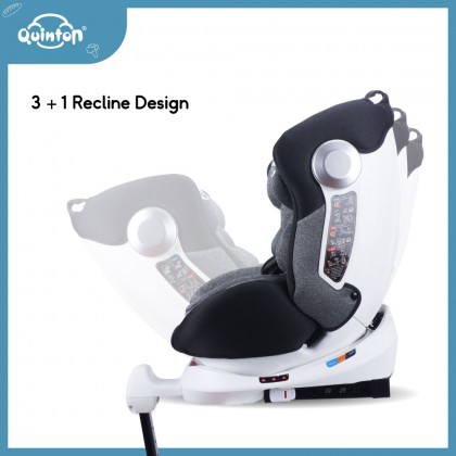 Quinton OneSpin 360 Safety Car Seat 0-36kg (New Born - Approx 12 Years)