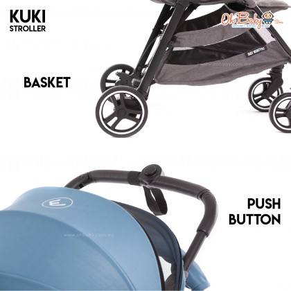 Baby Monsters Kuki Stroller from 0 months to 22kg