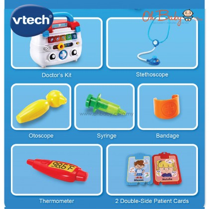 VTech Pretend & Discover Doctor's Kit Kids Toys Ages 2-5 years