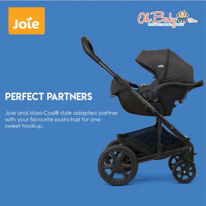 Joie i-Gemm 2 Pavement Infant Carrier i-Size (birth to 85 cm, ≤ 13 kg)
