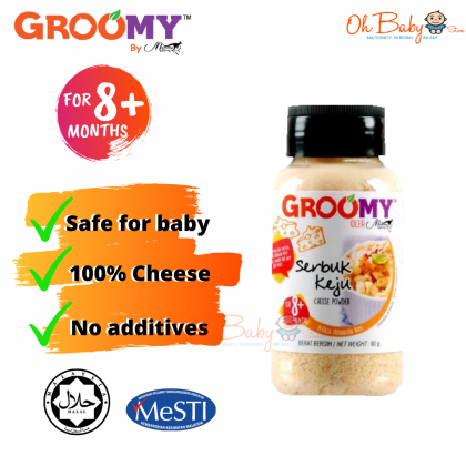 Groomy Cheese Powder 80g for 8months