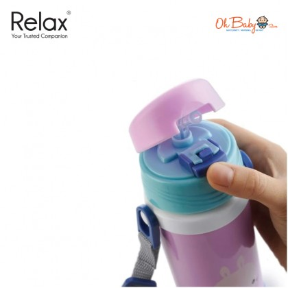 Relax Replacement Straw for Stainless Steel Kids Thermal Flask D2636