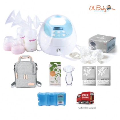 Spectra S1 Plus Hospital Grade Double Electric Breast Pump with Hands Free Package