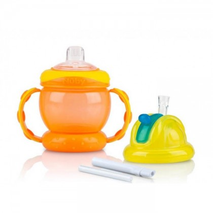Nuby Flip And Sip Combo 240ml (4m+)