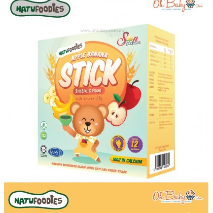 Natufoodies Baby Finger Food--Natural Food Stick