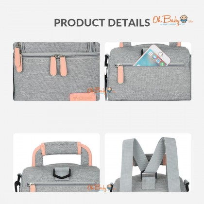 V-Coool Deluxe Double Layer Cooler Bag (FREE 1 x Ice Brick & 2 x Ice Packs)