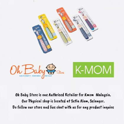 K-MOM Kids Toothbrush Step1/Step2 for Kid (12 Months - 12 Years)