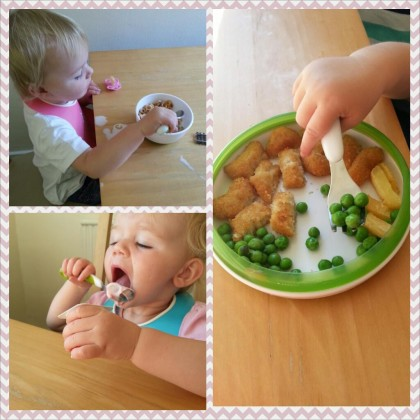 OXO Tot Baby Fork and Spoon Feeding Set