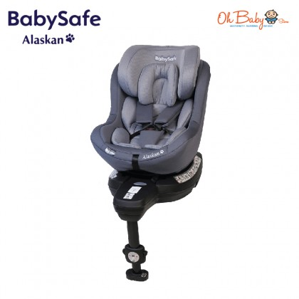 BabySafe Alaskan Spin 360 Isofix Convertible Car Seat From birth to 18kg