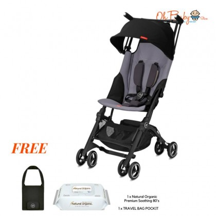 NEW 2019 Collection gb Pockit Plus ALL TERRAIN Baby Stroller - World Lightweight Stroller with Reclining Seat
