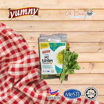 Yumny Spinach Dried Noodle Family Pack 150 g
