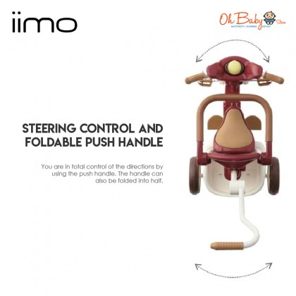 IIMO Foldable Tricycle #02 for Toddlers & Kids