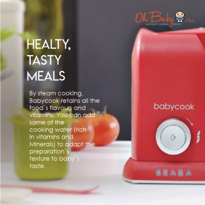 BEABA Babycook Solo 4-in-1 Food Processor Free Beaba Pasta Rice Cooker