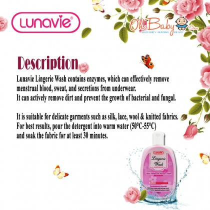 Lunavie Delicate Lingerie Wash 450ml