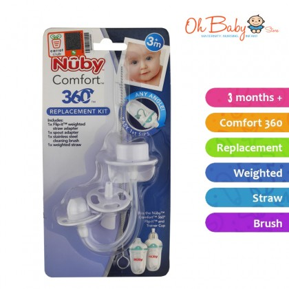 Nuby comfort 360 replacement kit 3m+