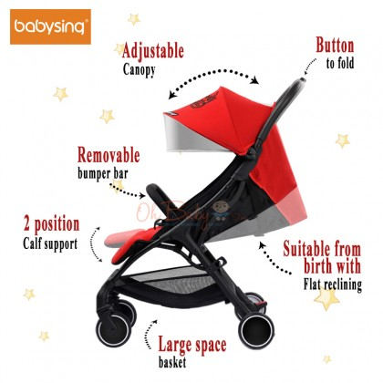 Babysing SGO Cabin Sized Light Weight Stroller