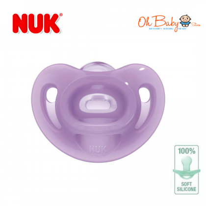 NUK Sensitive Silicone Soother ( 0-6 months )