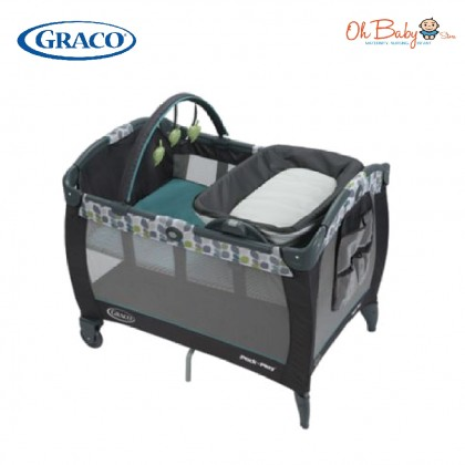Graco Pack N Play Playard With Reversible Napper & Changer LX Playpen - Boden