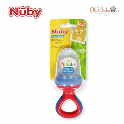 Nuby The Nibbler with Cover