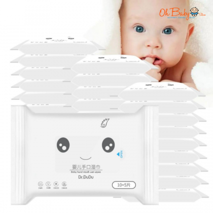 Dr.Dudu Baby Hand Mouth Wet Wipes ( 15's / 80's )