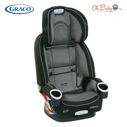 Graco 4ever Dlx Upgraded All-in-1 Convertible Car Seat Combo with Babysing Sgo Cabin Sized Light Weight Stroller