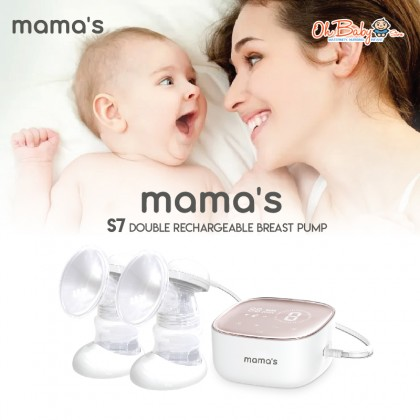 Mama's S7 Double Rechargeable Electrical Breast Pump