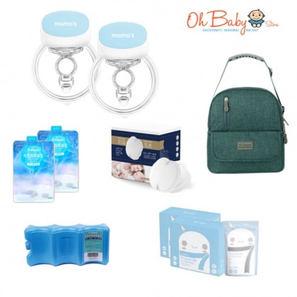 Mama's S5 Wearable Breast Pump Package