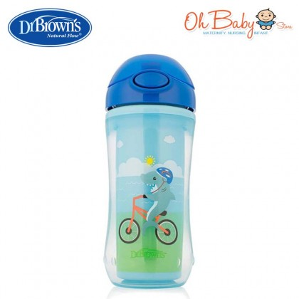 Dr. Brown's Insulated Straw Cup (300ml) for 12m+