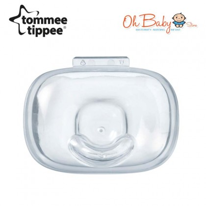 Tommee Tippee Ultra Light Soft Silicone Soothers 0-6m (1pcs)