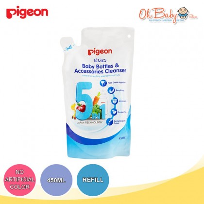 Pigeon Baby Bottles & Accessories Cleanser Bottle (500ml) / Refill (450ml)