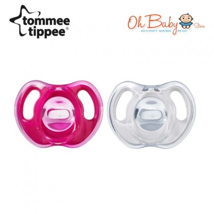 Tommee Tippee Ultra Light Soft Silicone Soothers 18-36m (2pcs)