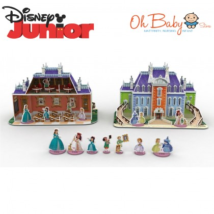 Sofia The First A Magical Adventure with 3D Model Scene Box Set