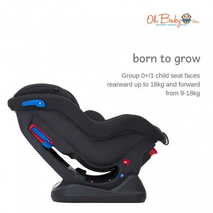 Joie Meet Steadi Convertible Car Seat / Suitable for 0-18kg or 0-4 years
