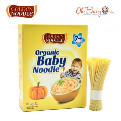 Golden Noodle Organic Baby Noodle 7m+ (Pumpkin / Tomato / Spinach / Carrot / Beet Root / Broccoli / Sweet Potato) 200g