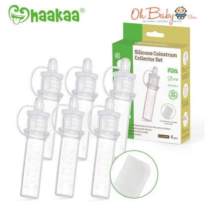 Haakaa Silicone Colostrum Collector Set 4ml (6pcs)