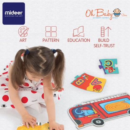 Mideer My First Puzzle Mom & Baby 6 Puzzles 30pcs 2 years+